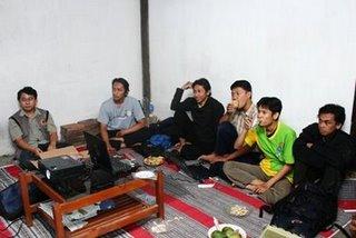 kopdar blogger bengawan di rumah mas blontank 2